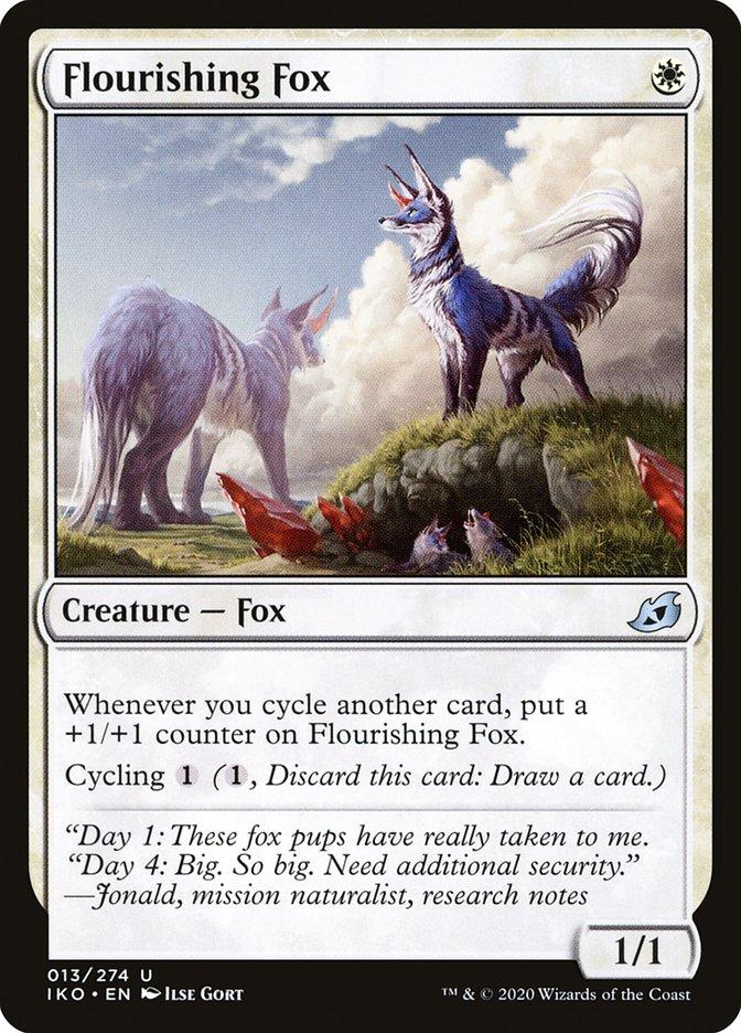 Carta Raposa Florescente/Flourishing Fox de Magic the Gathering