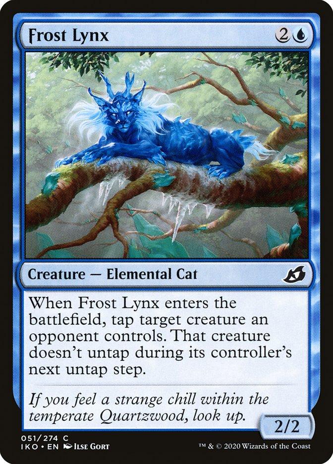 Carta Lince de Gelo/Frost Lynx de Magic the Gathering