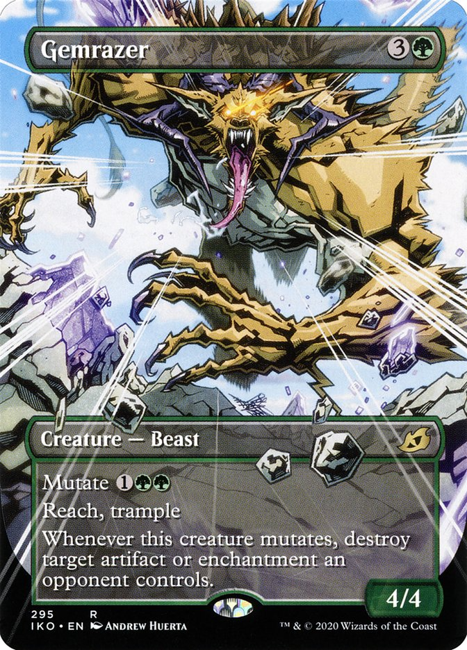 Carta Destruidor de Gemas/Gemrazer de Magic the Gathering