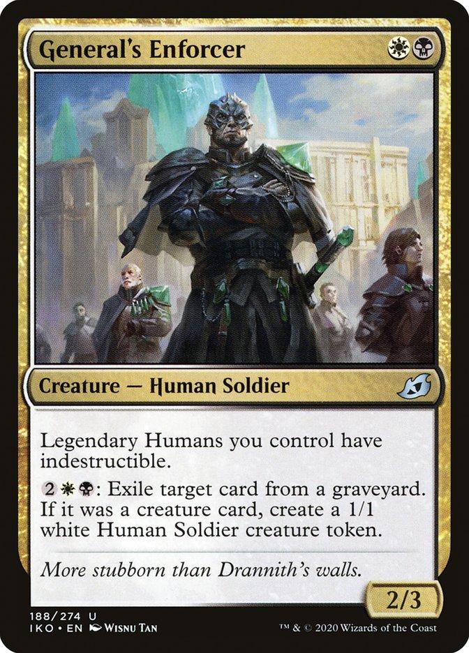 Carta Impositor do General/General's Enforcer de Magic the Gathering