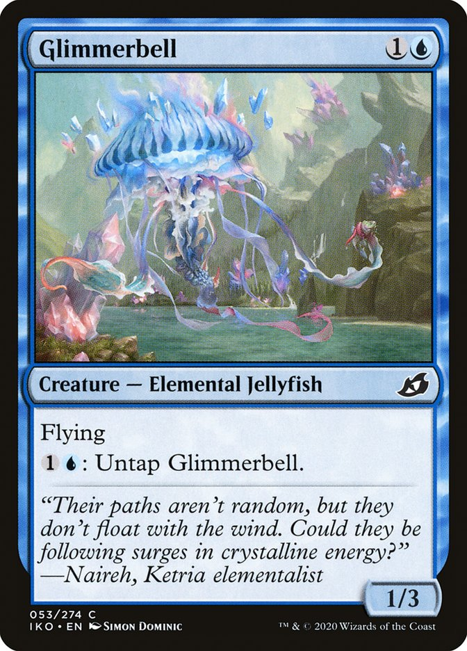 Carta Sino-de-luz/Glimmerbell de Magic the Gathering