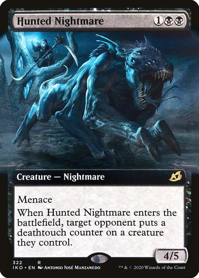 Carta Pesadelo Caçado/Hunted Nightmare de Magic the Gathering