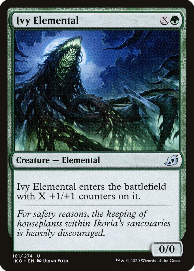 Carta Elemental de Hera/Ivy Elemental de Magic the Gathering