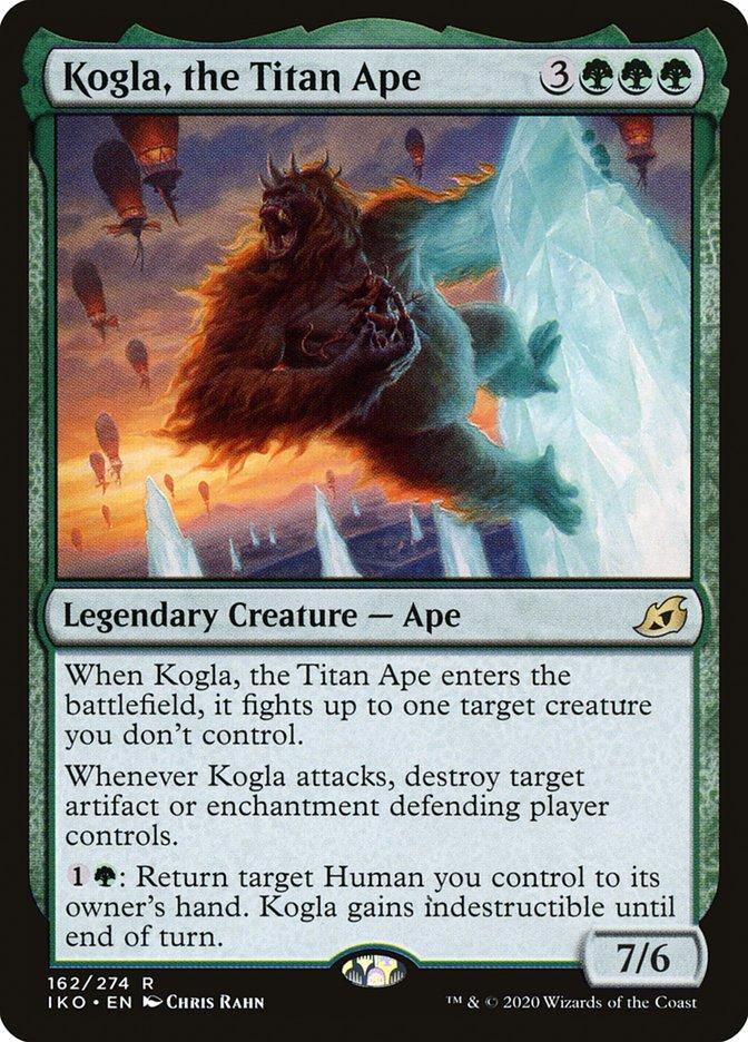 Carta Kogla, o Símio Titânico/Kogla, the Titan Ape de Magic the Gathering