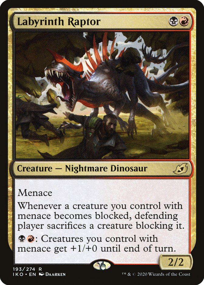 Carta Raptor do Labirinto/Labyrinth Raptor de Magic the Gathering