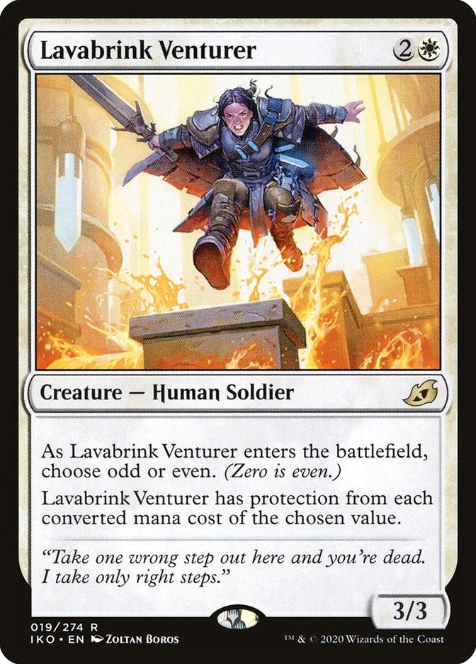 Carta Aventureira de Beiralava/Lavabrink Venturer de Magic the Gathering