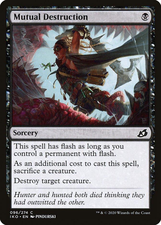 Carta Destruição Mútua/Mutual Destruction de Magic the Gathering