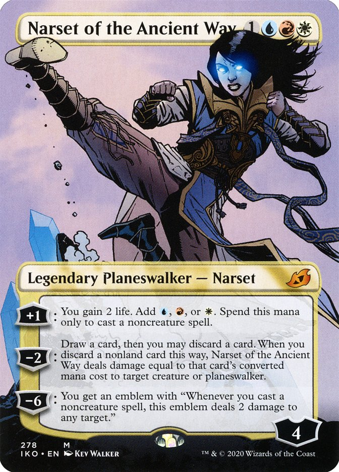 Carta Narset do Caminho Antigo/Narset of the Ancient Way de Magic the Gathering