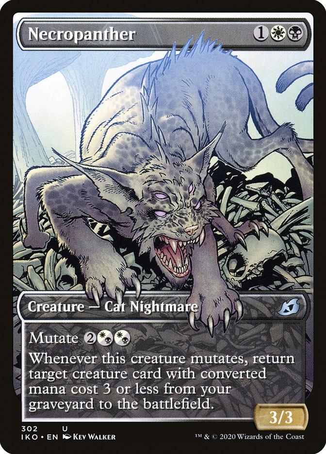 Carta Necropantera/Necropanther de Magic the Gathering