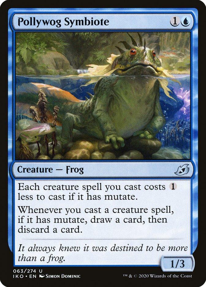 Carta Simbionte Girino/Pollywog Symbiote de Magic the Gathering