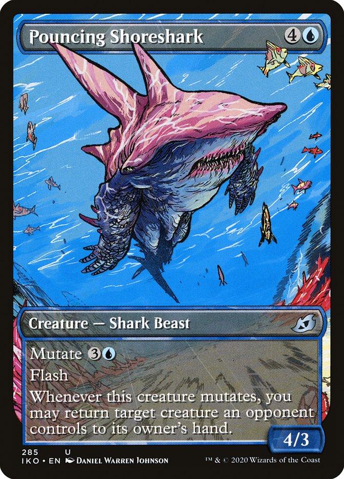 Carta Tubarão-da-costa Saltador/Pouncing Shoreshark de Magic the Gathering