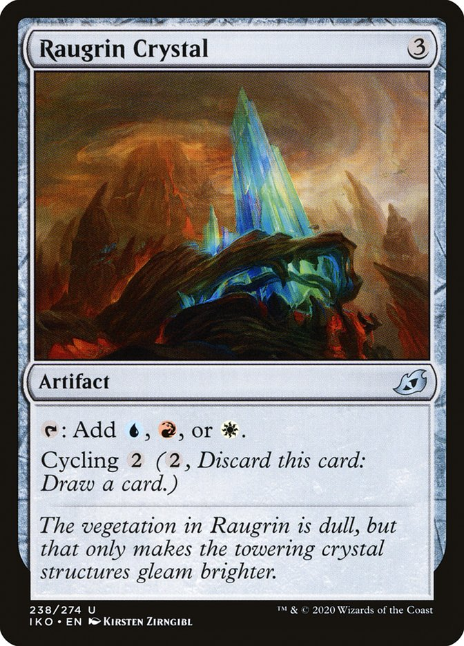 Carta Cristal de Raugrin/Raugrin Crystal de Magic the Gathering