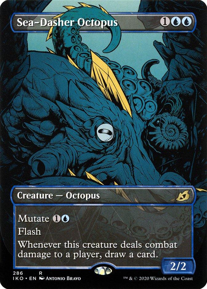 Carta Polvo Flecha-do-mar/Sea-Dasher Octopus de Magic the Gathering