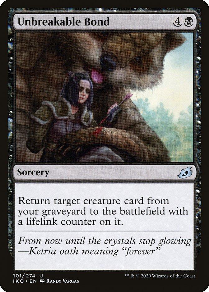 Carta Vínculo Inquebrável/Unbreakable Bond de Magic the Gathering