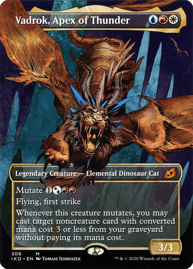 Carta Vadrok, Ápice do Trovão/Vadrok, Apex of Thunder de Magic the Gathering