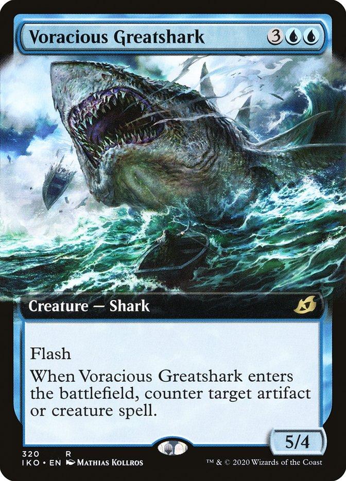 Carta Megatubarão Voraz/Voracious Greatshark de Magic the Gathering