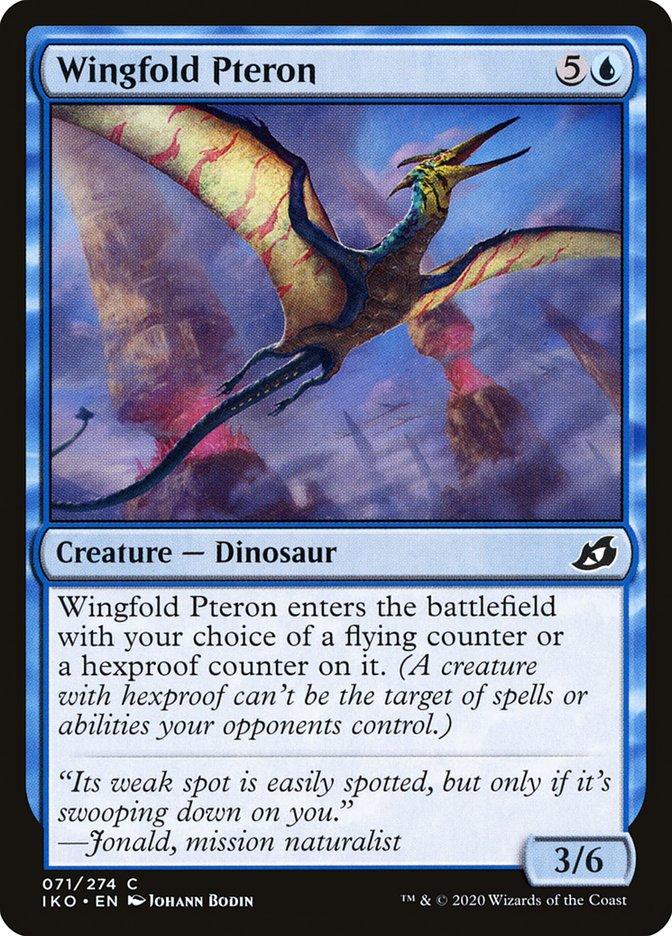 Carta Pteron-de-asa-dobrável/Wingfold Pteron de Magic the Gathering