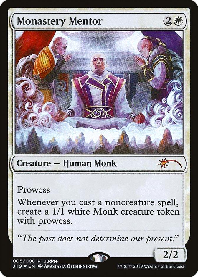 Carta /Monastery Mentor de Magic the Gathering
