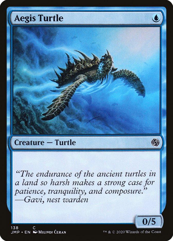 Carta Tartaruga da Égide/Aegis Turtle de Magic the Gathering