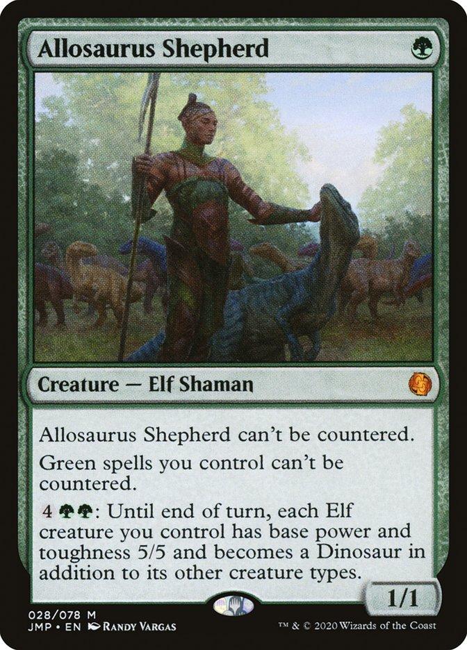Carta Allosaurus Shepherd/Allosaurus Shepherd de Magic the Gathering