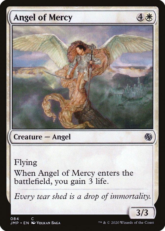 Carta Anjo de Misericórdia/Angel of Mercy de Magic the Gathering