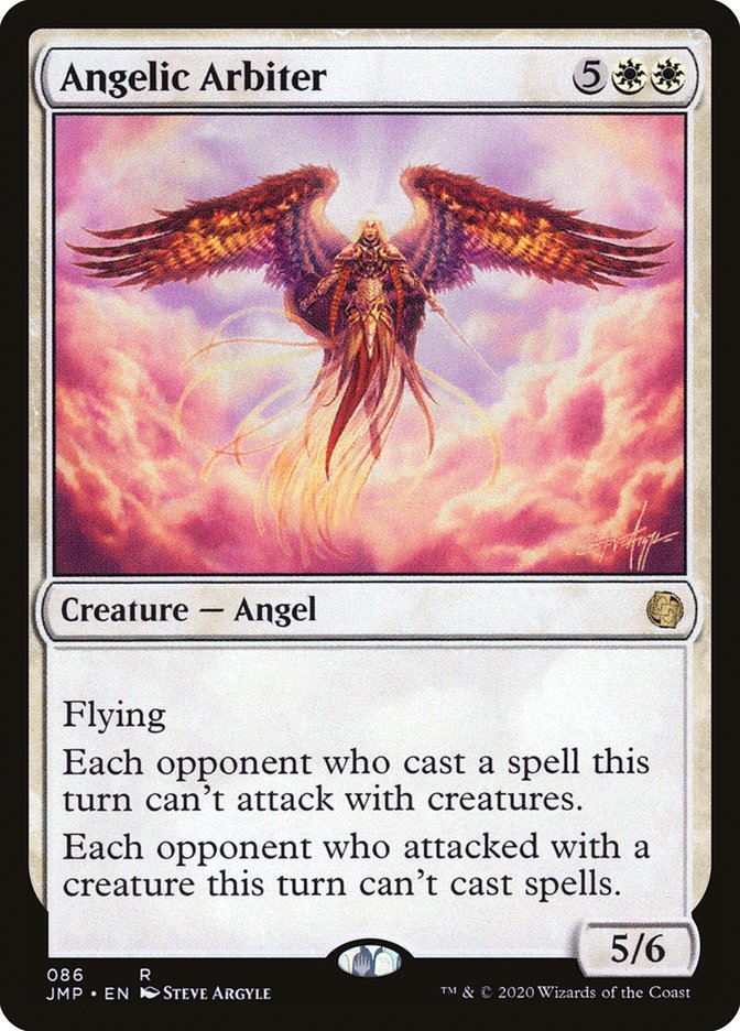 Carta Árbitro Angelical/Angelic Arbiter de Magic the Gathering