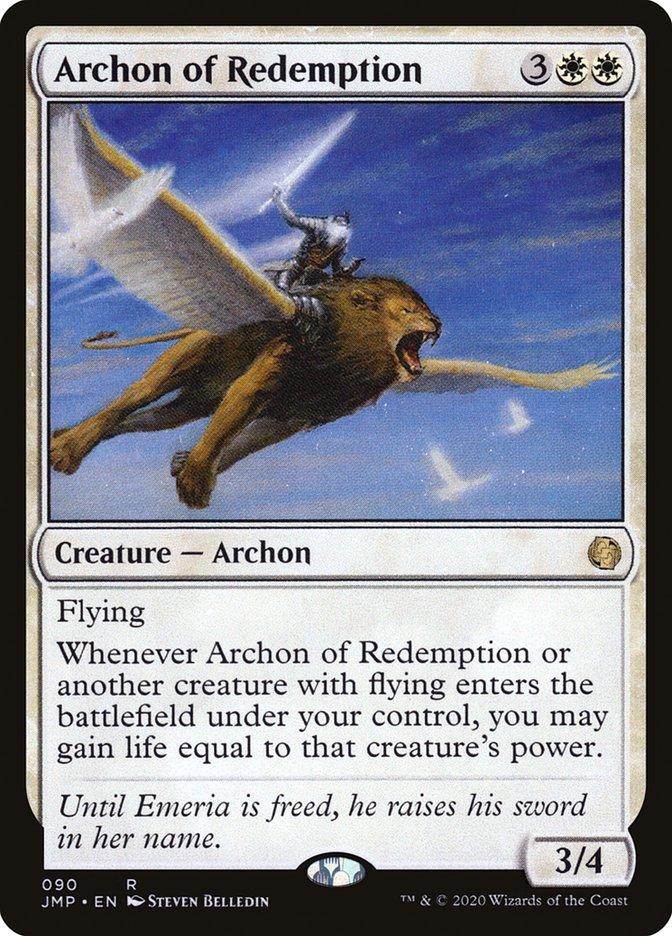 Carta Arconte da Redenção/Archon of Redemption de Magic the Gathering