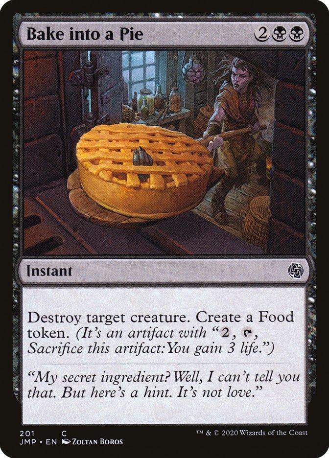 Carta Enfornar na Torta/Bake into a Pie de Magic the Gathering
