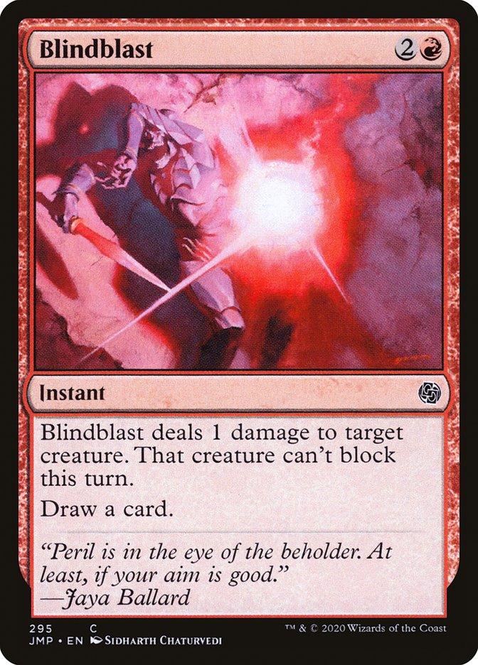 Carta Explosão Cegante/Blindblast de Magic the Gathering