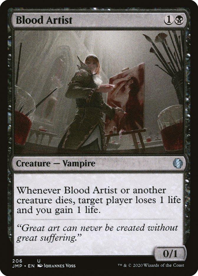 Carta Artista do Sangue/Blood Artist de Magic the Gathering