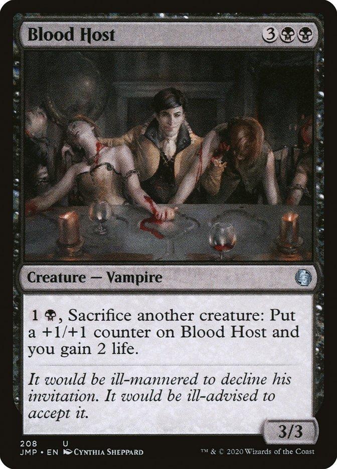 Carta Anfitrião Sanguinário/Blood Host de Magic the Gathering