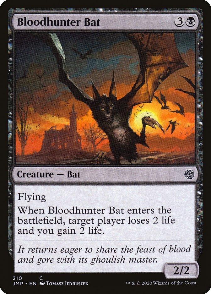 Carta Morcego Caçador de Sangue/Bloodhunter Bat de Magic the Gathering