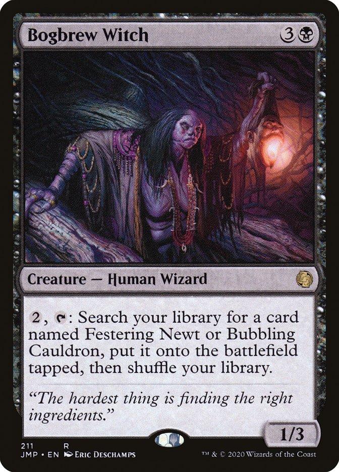 Carta Bruxa da Poção Pantanosa/Bogbrew Witch de Magic the Gathering