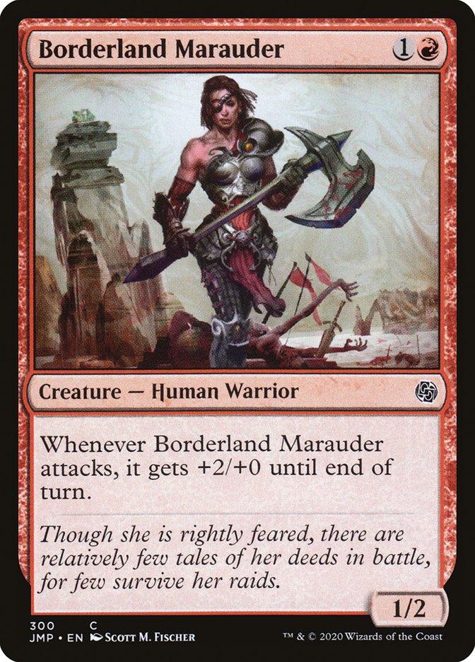 Carta Saqueador da Fronteira/Borderland Marauder de Magic the Gathering
