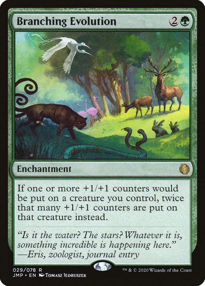 Carta Branching Evolution/Branching Evolution de Magic the Gathering