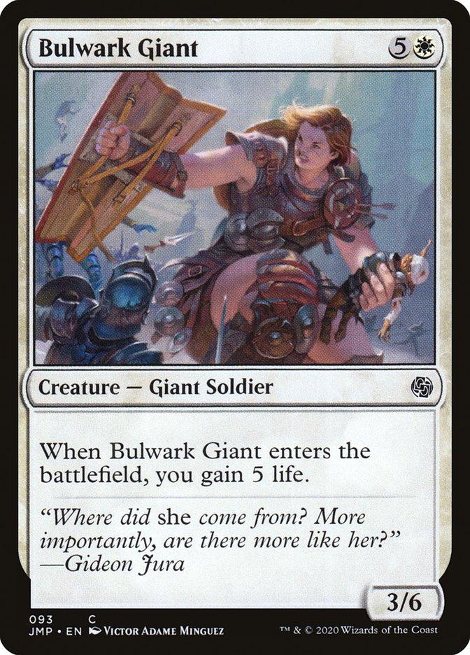 Carta Gigante Baluarte/Bulwark Giant de Magic the Gathering