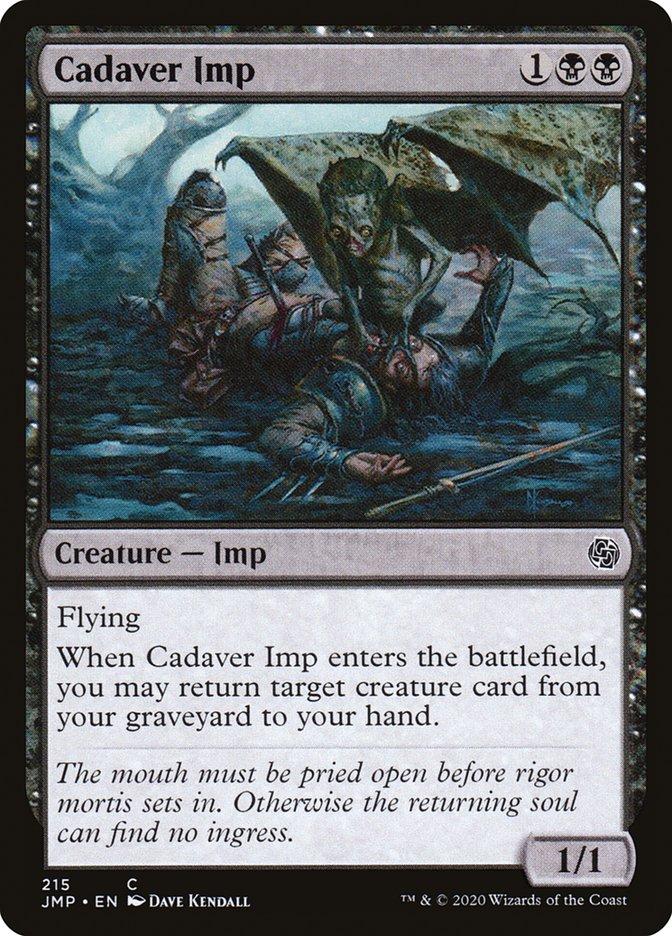 Carta Diabrete dos Cadáveres/Cadaver Imp de Magic the Gathering
