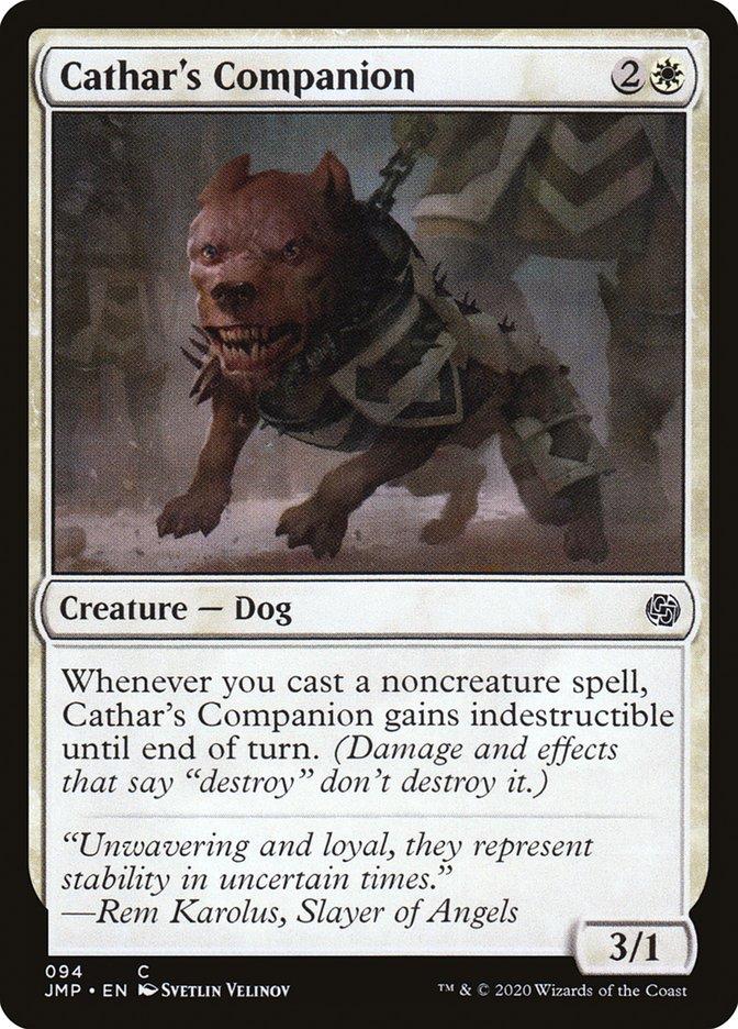 Carta Companheira do Cátaro/Cathar's Companion de Magic the Gathering