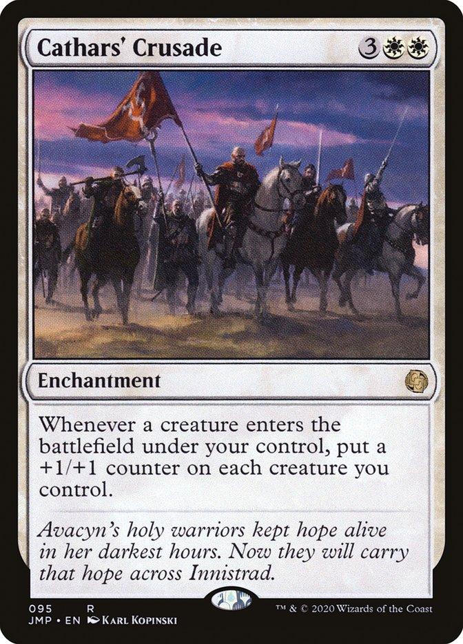 Carta Cruzada dos Cátaros/Cathars' Crusade de Magic the Gathering