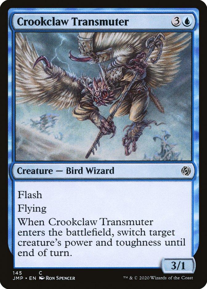 Carta Transmutador de Garras Curvas/Crookclaw Transmuter de Magic the Gathering