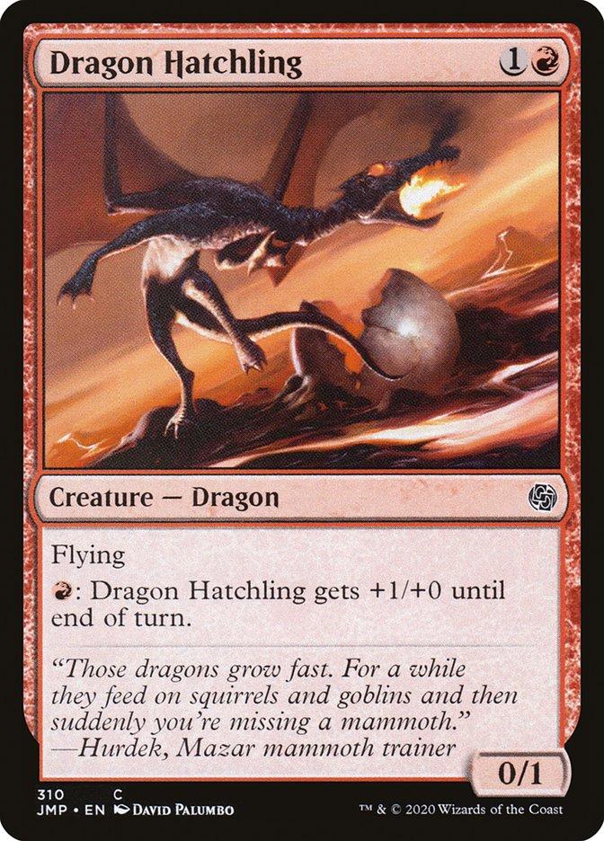 Carta Cria de Dragão/Dragon Hatchling de Magic the Gathering