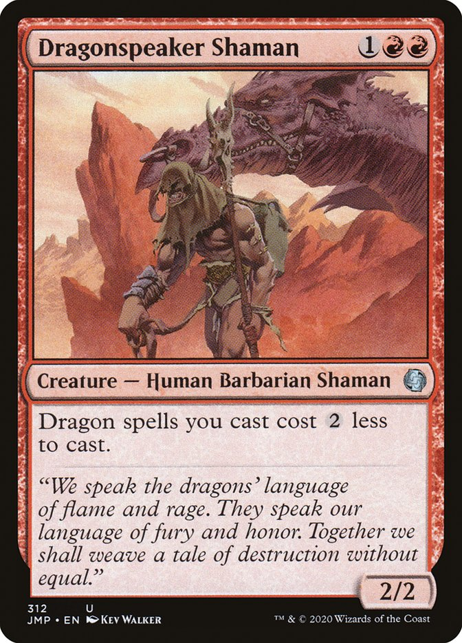 Carta Xamã Dracontófilo/Dragonspeaker Shaman de Magic the Gathering