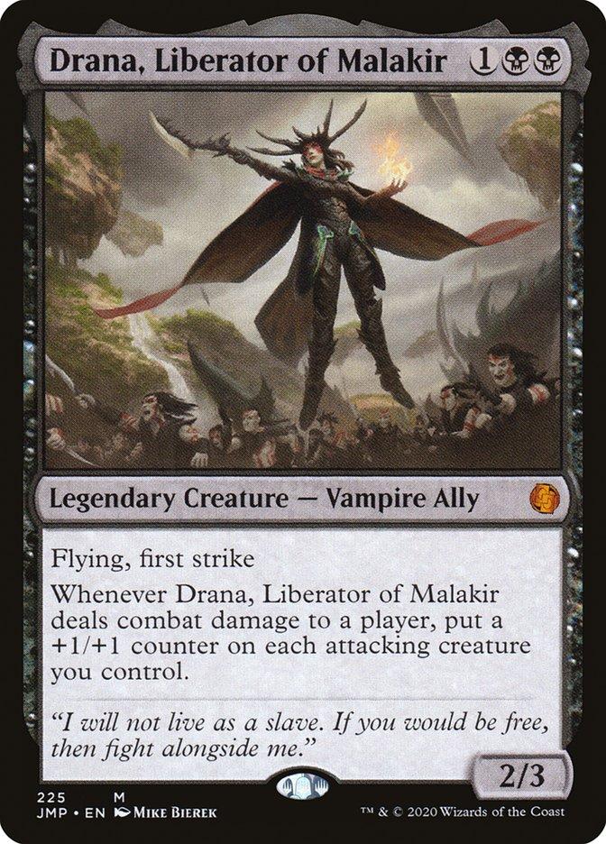 Carta Drana, Libertadora de Malakir/Drana, Liberator of Malakir de Magic the Gathering