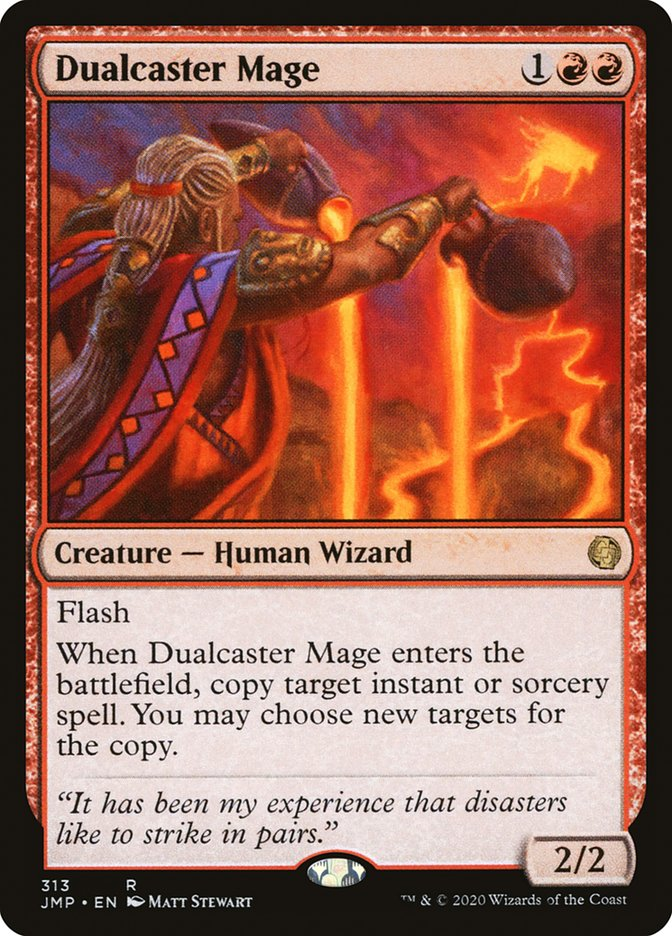 Carta Mago da Conjuração Dupla/Dualcaster Mage de Magic the Gathering