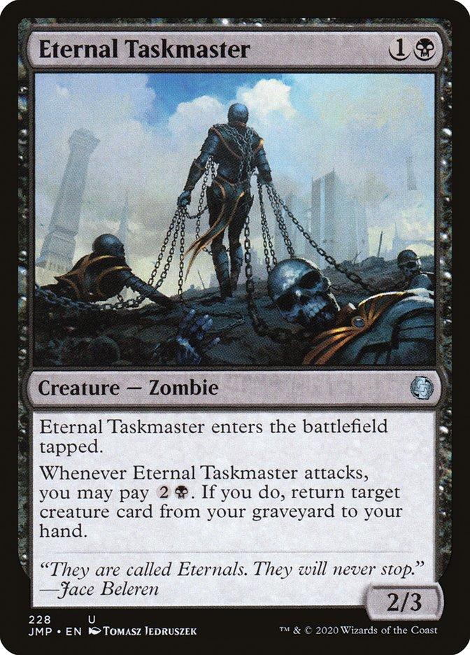 Carta Capataz dos Eternos/Eternal Taskmaster de Magic the Gathering