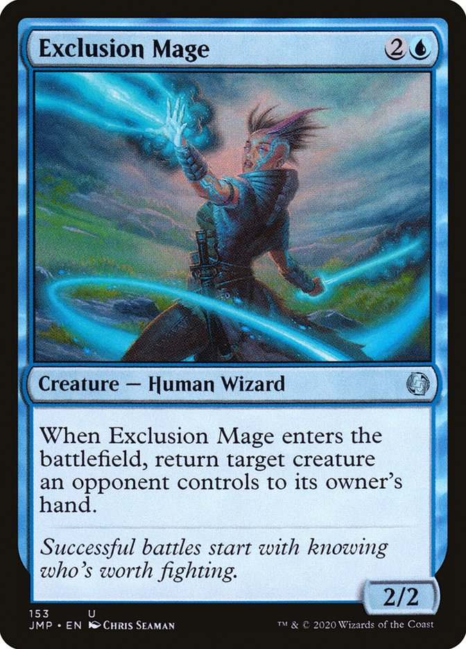 Carta Maga da Exclusão/Exclusion Mage de Magic the Gathering