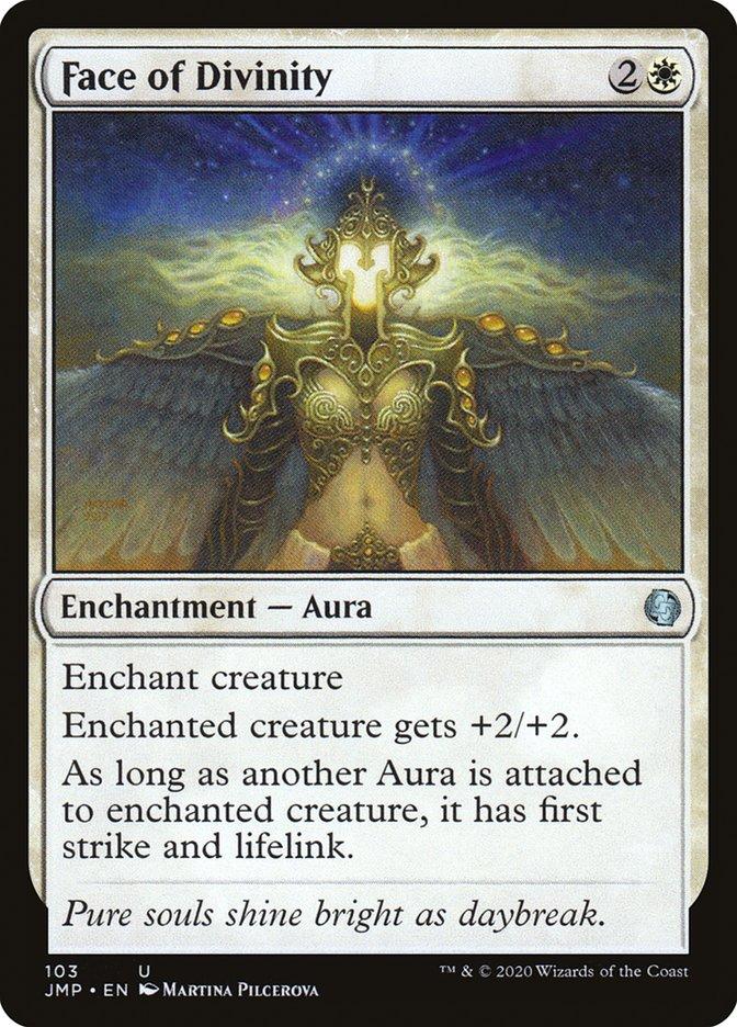 Carta Face da Divindade/Face of Divinity de Magic the Gathering