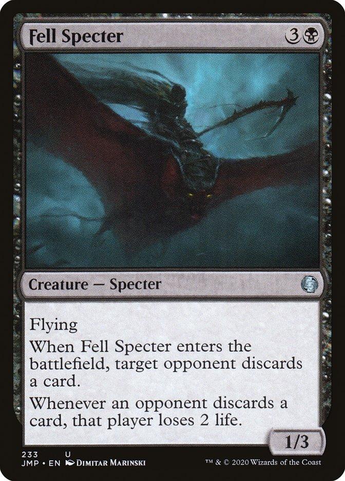Carta Espectro Vil/Fell Specter de Magic the Gathering