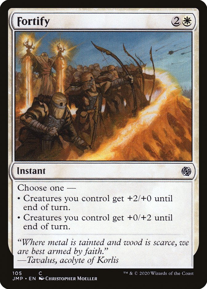 Carta Fortificar/Fortify de Magic the Gathering