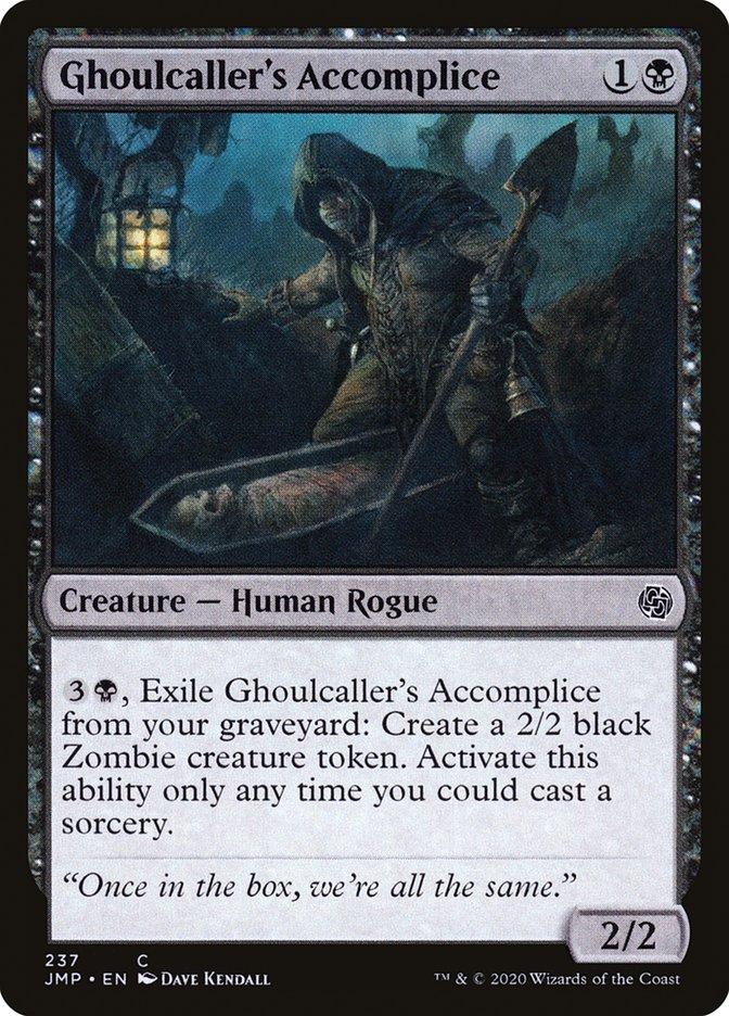Carta Cúmplice do Invocador de Carniçais/Ghoulcaller's Accomplice de Magic the Gathering